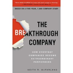 The Breakthrough Company Book